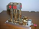 3-Zylindermaschine mit Maudslay Steuerung