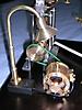 Dampfmaschinenanlage_Generator und Leuchte