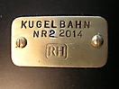 Kugelbahn No 2_Schild